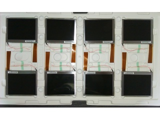 "友达 4"" TN 液晶模组 480×234 350nits CCFL Analog 26pins"