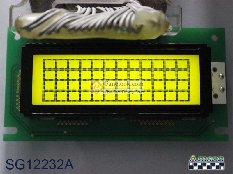 上晴液晶模组sg12232a主要参数