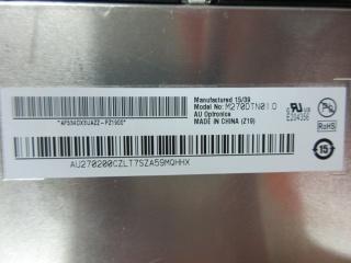"""友达 27"""" TN 液晶模组 2560×1440 350nits WLED LVDS 130pins 144Hz"""