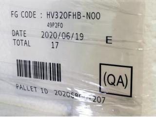 京东方液晶玻璃HV320FHB-N00