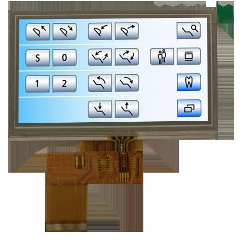 3寸tft 液晶显示屏 > mi0430k2t-1rp  产品品牌